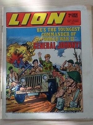 Lion comic dated 10Oct70