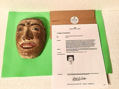 1920's Balinese / Indonesian Wood Festival Mask - Topenga - Authentic