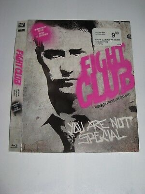 Fight Club / Blu ray Slip Cover Only / No Disc