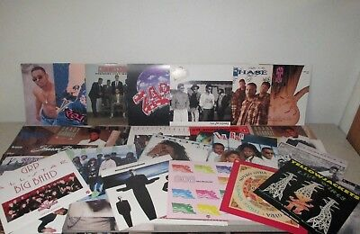 """LARGE LOT of 34 Rare PROMO Only 12"""" Posters R&B Soul THE JACKSONS After 7 & More"""