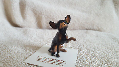 Hagen Renaker Dog Large Chihuahua Black Figurine Miniature Free Shipping 01019