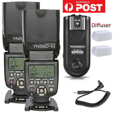 YONGNUO YN560 III Flash Speedlite Kit/RF-603 II C3 Wireless Controller For Canon