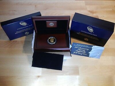 2014-W Kennedy 3/4 Ounce Gold Half Dollar w/Original Mint Packaging