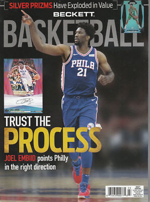 New Beckett Basketball Card Price Guide #306 March 2018