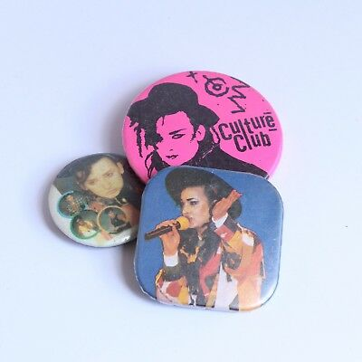Boy George Music Pins Badges