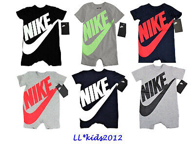 Nike Futura Infant Coverall Outfit 3-6M, 6/9M, 9-12M