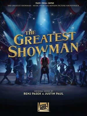THE GREATEST SHOWMAN -Soundtrack PVG Book *NEW* Piano Vocal Guitar Music