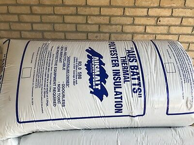 Insulation Batts. 10 Bags 580 Wide