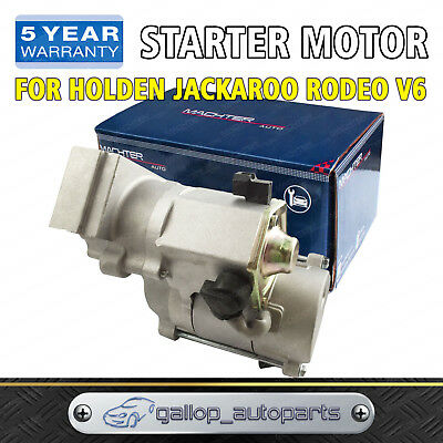 For Holden Starter Motor Jackaroo Rodeo RA TF R7 6VD1 6VE1 FRONTERA MX V6 3.2L