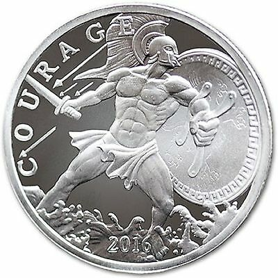 Ajax 1 oz .999 Silver Round - Only 57,750 Minted (Registered Post) #2