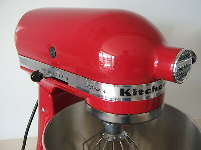 KitchenAid Artisan Mixer Empire Red, in Excellent Working Condition !!!