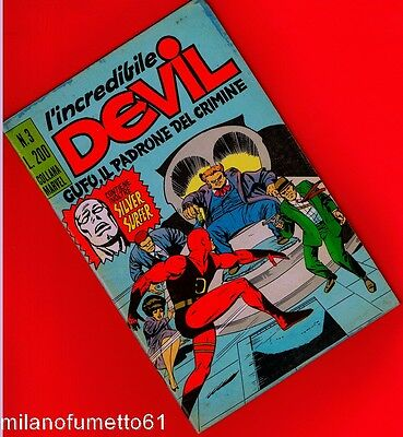 L'INCREDIBILE DEVIL N. 3 Corno 1970 Ottimo di busta