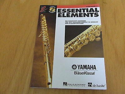 Essential Elements Band 2 mit CD Flöte in C