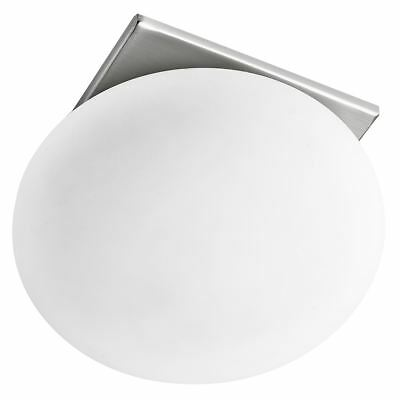 Searchlight RECESSED OVAL OPAL GLASS RECESSED DOWNLIGHT 8060R-1SS