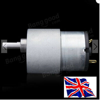 Reversible - General Purpose DC motor - 80 RPM - HIGH TORQUE - Available in UK