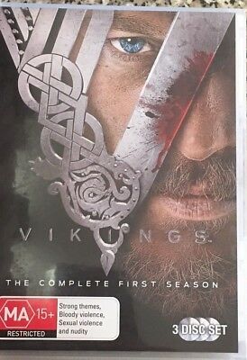VIKINGS The Complete First Season 3 disc set DVD