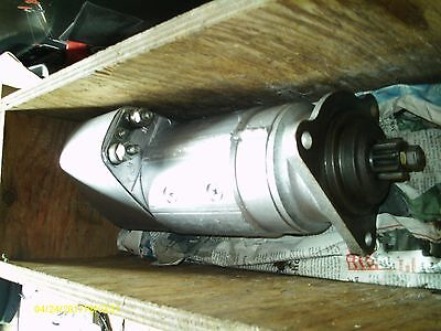 Genuine Bosch 9 001 411009 Electric Starter Motor Used Only 2 Or 3 Times In Box