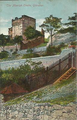 Vintage Benzaquen Postcard -   THE MOORISH CASTLE, GIBRALTAR