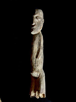 ancestor figure: part of Chief's House ATAORO Indonesia