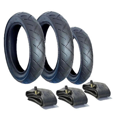 """Genuine Mothercare My3 Tyre & Tube Set (12""""/10"""") POSTED FREE 1ST CLASS"""