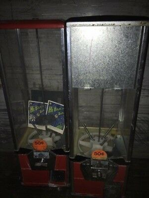 "2"" capsule toy bulk vending machine 2 inch vendor A&A needs repainted"