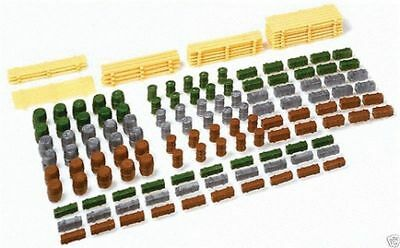 faller assorted goods 183 pieces  1:160 scale