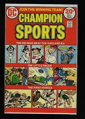 Champion Sports #1 FN 1973 DC Comic Book