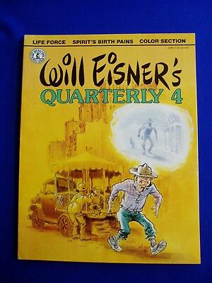 Will Eisner's Quarterly 4, New book.