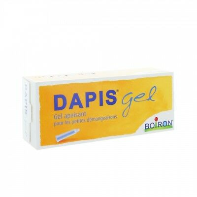 Boiron Dapis Gel Instant Homeopathic relief for Insect bites - 40g tube UK Stock