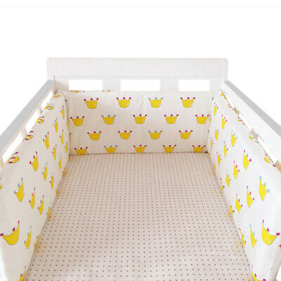 Baby Bumpers In the Crib For Newborn 100%Cotton Cot Bumper Baby Bed  Protector