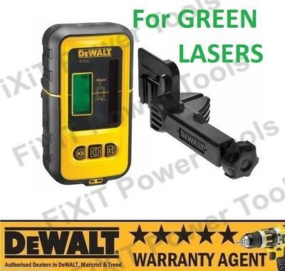DeWALT DE0892G Digital Line Laser Detector for Use With DCE088D1G DCE089D1G NEW