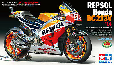 Tamiya 14130 1/12 REPSOL Honda RC213V '14 Limited Ver. from Japan Rare