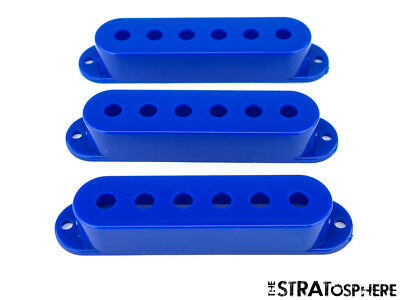 *NEW PICKUP COVERS for Fender Standard Stratocaster Strat Guitar Parts Blue