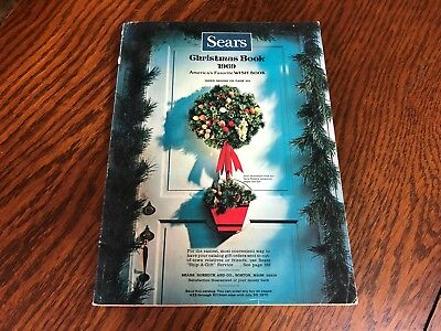 1969 Sears Wish Book Christmas Season Magazine Catalog Nice Vintage