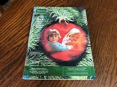 1977 Sears Wish Book Christmas Season Magazine Catalog Nice Vintage