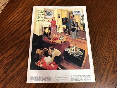 1979 Sears Wish Book Christmas Season Magazine Catalog Nice Vintage