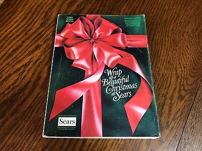 1981 Sears Wish Book Christmas Season Magazine Catalog Nice Vintage