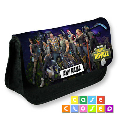 FORTNITE BATTLE ROYALE Gaming Characters CUSTOM Pencil Case School Make Up Bag