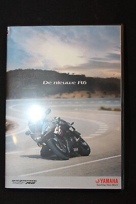 "Yamaha DVD ""De Nieuwe R6"" 3 films on one DVD!"