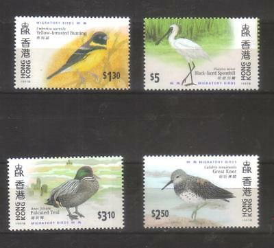 9350- Hong Kong, British Colonies, complete set  Michel 811-4 year 1997 - ** MNH