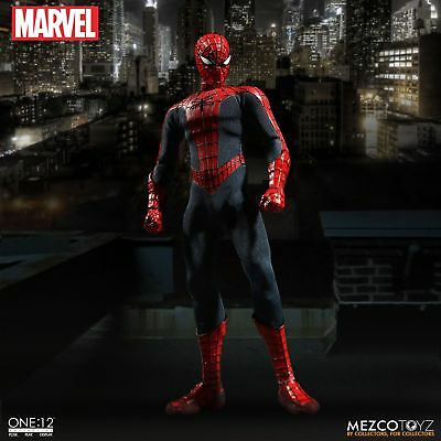 Mezco Toyz One12 Collective Marvel Spider-Man 1/12 Action Figure MISB In Stock