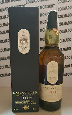 WHISKY ISLAY SINGLE MALT SCOTCH WHISKY LAGAVULIN 16 yo 43% 20cl 200ml 0,2L BOXED