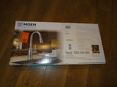 Moen 87791SRS Noell Single-Handle Pull-Down Sprayer Kitchen Faucet with Reflex