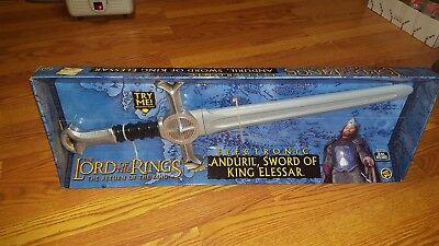 lord of rings sword of king elessar