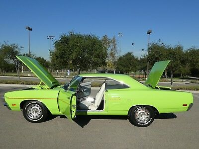 1970 Plymouth Road Runner California Beauty... 1970 Plymouth Road Runner Numbers Matching Original California Car....