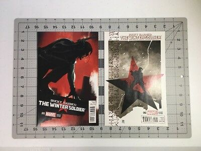 Winter Soldier Comic Lot  NM 9.4 Variants, 4 Issues Total
