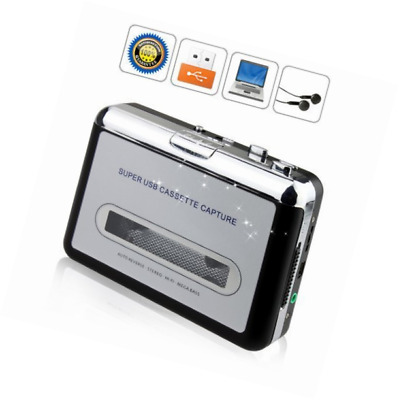 BW Portable Tape to PC Cassette-to-MP3 CD USB Converter Capture Digital Audio Mu