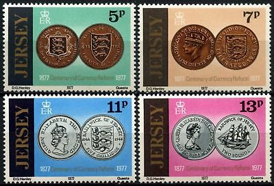 Jersey 1977 SG#171-174 Currency Reform MNH Set #D67637