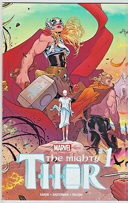 Marvel Comics THE MIGHTY THOR #1 2016 GATEFOLD WRAP AROUND COVER JANE FOSTER