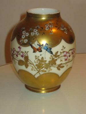 Stunning Antique Handpainted Redon Limoges Porcelain Vase